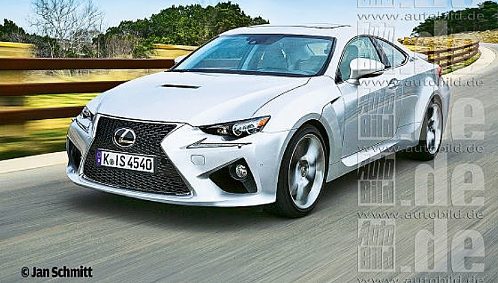 This Is the Sexiest Lexus RC Rendering
