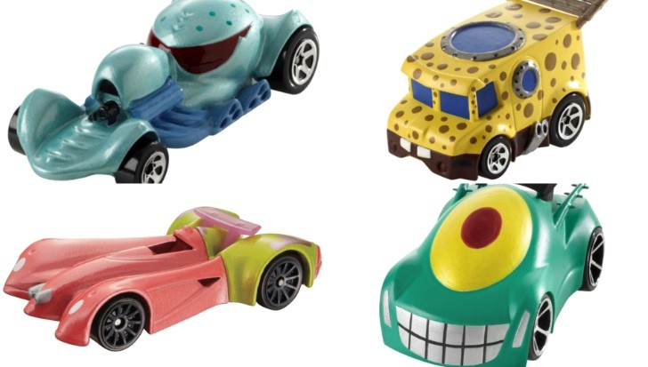 This Is The Spongebob Squarepants Hot Wheels Car
