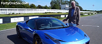 This Is What £100,000 in Ferrari 458 Italia Options Look Like [Video]