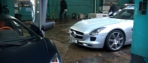 This Is What a Supercar Car Wash Looks Like [Video]