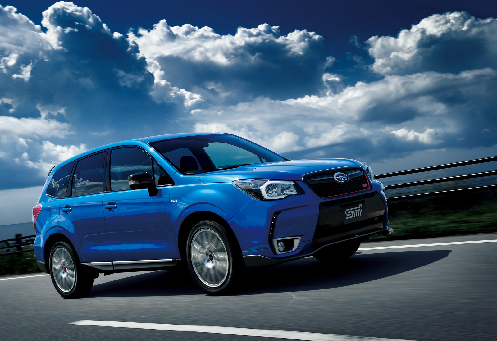 This Isn't the 2015 Subaru Forester STI, Just a Japan-Only tS