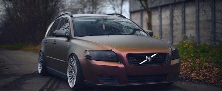 This Isn't Your Average Volvo V50, So Be Prepared to Raise ... Raising Oil Volvo V50