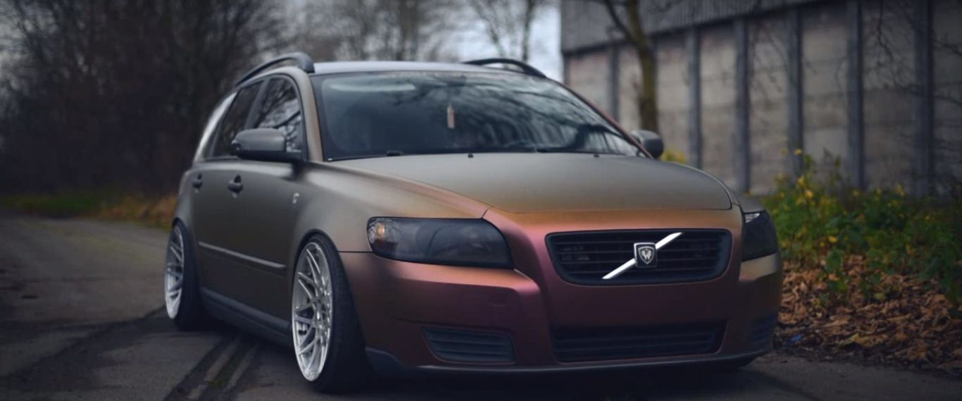 This Isn't Your Average Volvo V50, So Be Prepared to Raise an Eyebrow - autoevolution