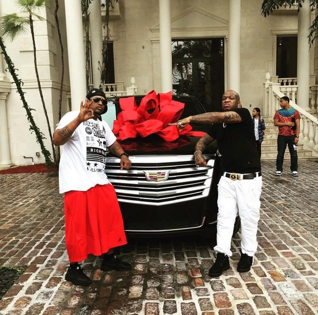 this is what you get when you�re friends with birdman