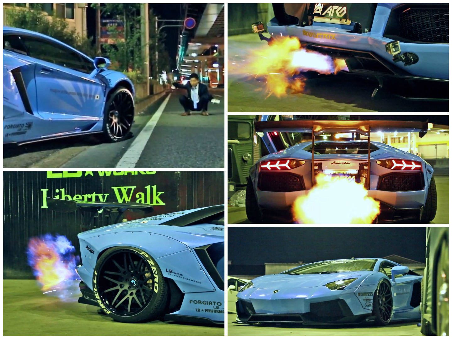 This Japanese Tuned Lamborghini Aventador Will Bring Fire To 2014