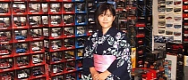 This Japanese Woman Loves Scale Models