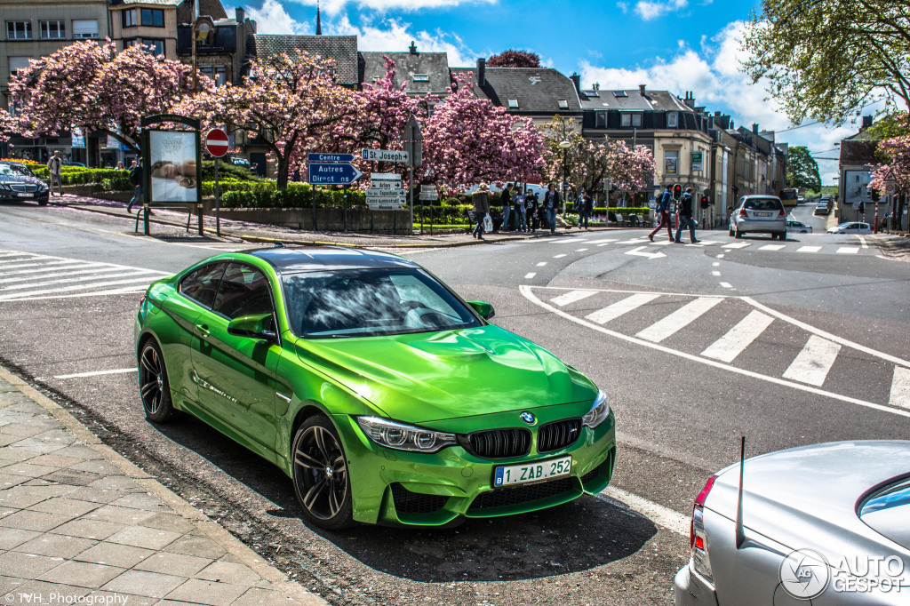 This Java Green Individual BMW M4 Seems Out of this World