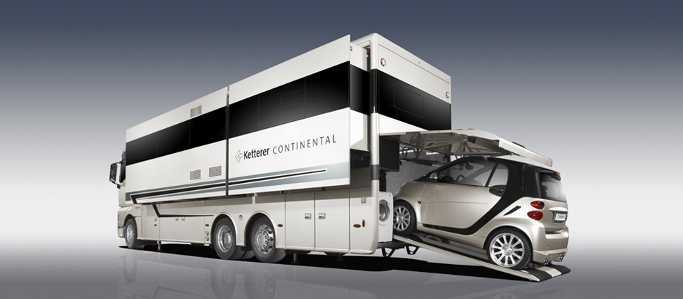 This Ketterer Continental Rv Has Enough Space For Your