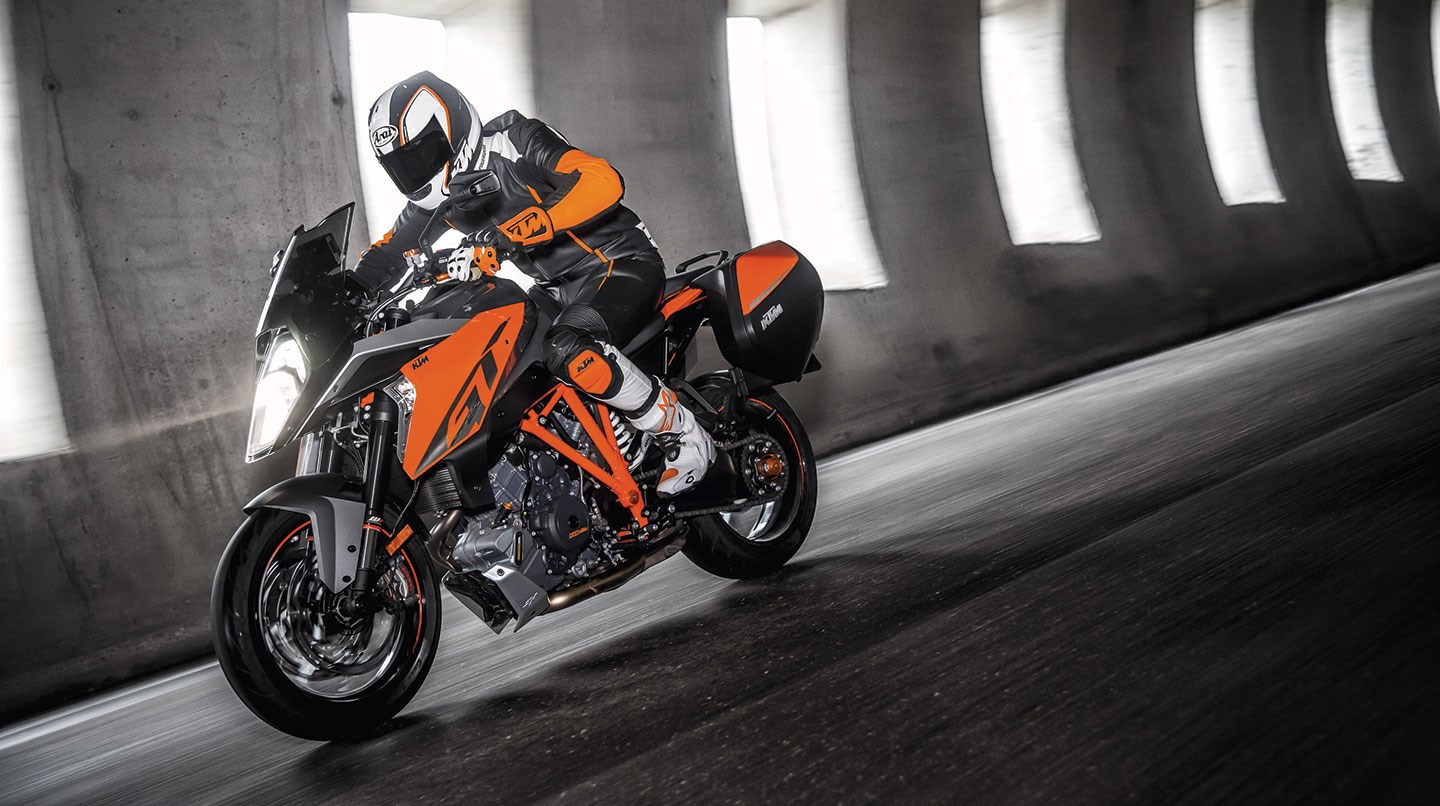 this ktm 1290 super duke gt will make you want one badly