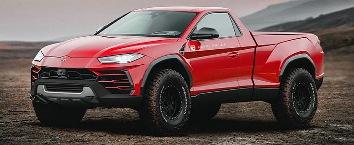 This Lamborghini Urus Pickup Is the Best One Yet