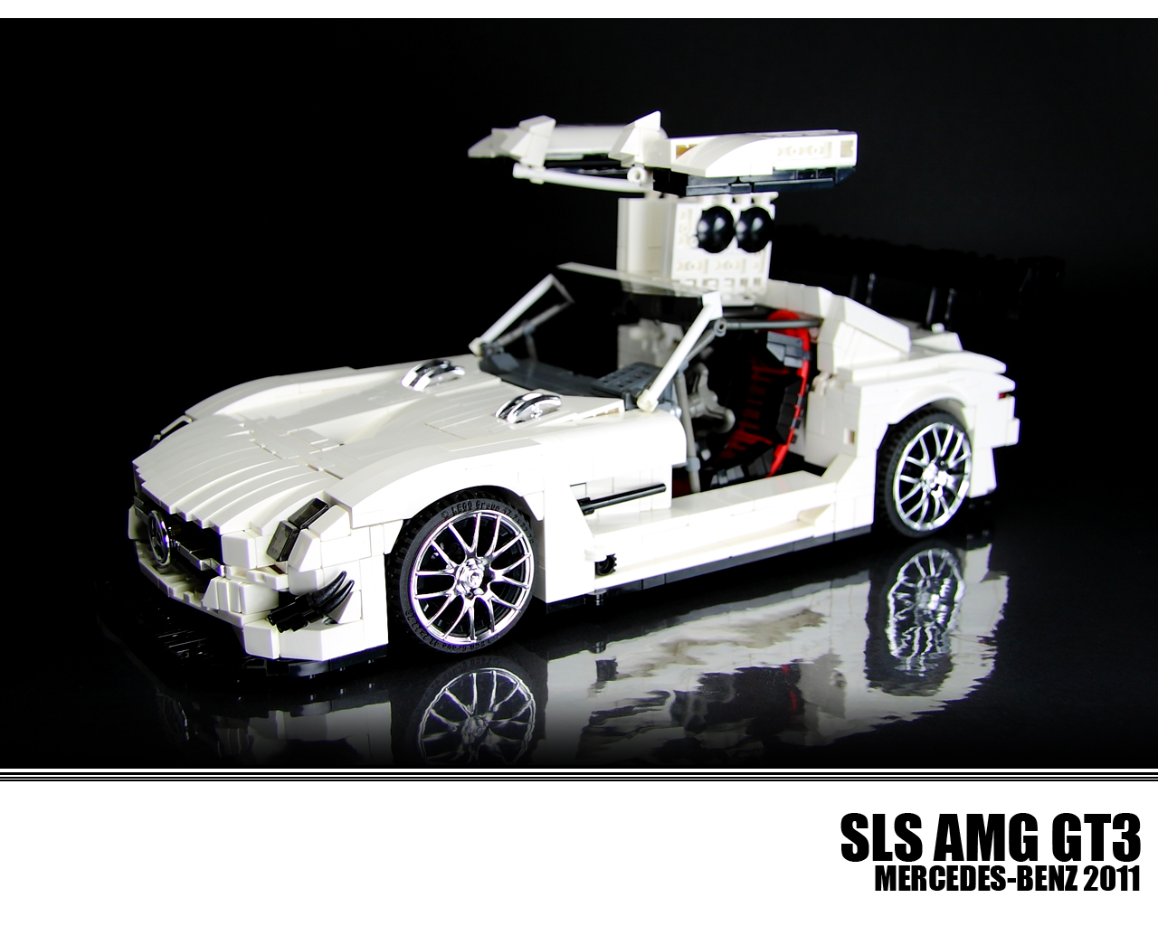 this lego technic sls amg gt3 is all kinds of awesome. Black Bedroom Furniture Sets. Home Design Ideas
