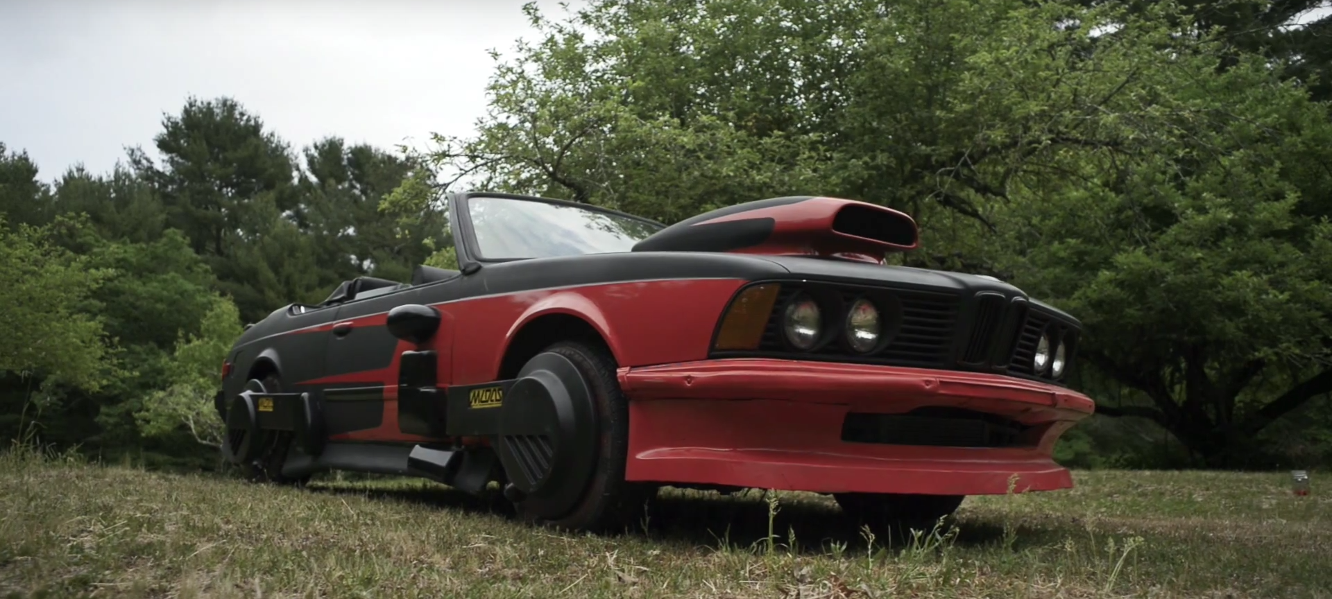 This Man Owns The Original Bmw 6 Series Shown In The Back To The Future Movie Autoevolution