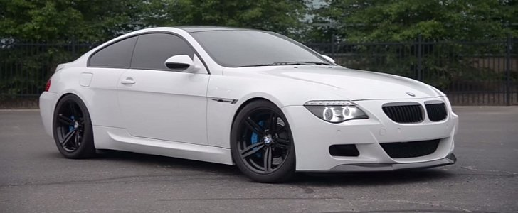 this manual bmw m6 is a rare spot video autoevolution. Black Bedroom Furniture Sets. Home Design Ideas
