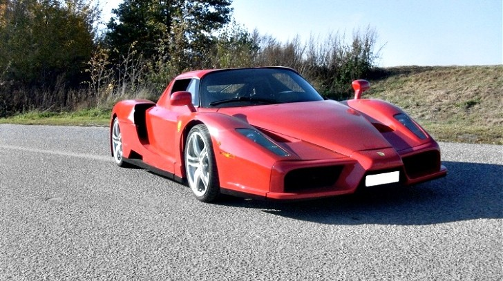 This May Have a Mid-Mounted V12, But It's no Ferrari Enzo [Photo Gallery]