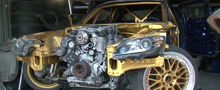 """This Mazda RX-8 Is Getting a """"55 AMG"""" Supercharged Engine ..."""