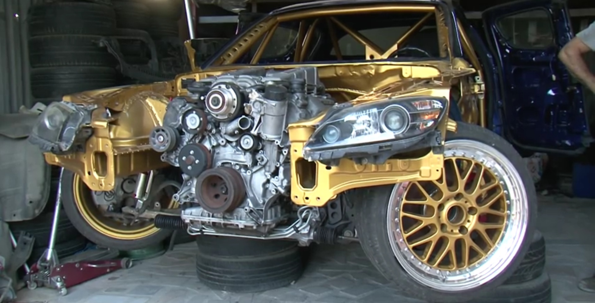 This Mazda Rx 8 Is Getting A 55 Amg Supercharged Engine