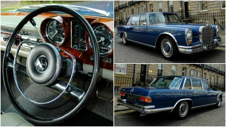 This Mercedes-Benz 600 Grosser Can Be Yours For £129,950 – Photo Gallery