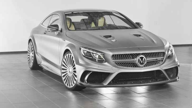 This Mercedes-Benz S63 AMG with 900 HP from Mansory is the ...