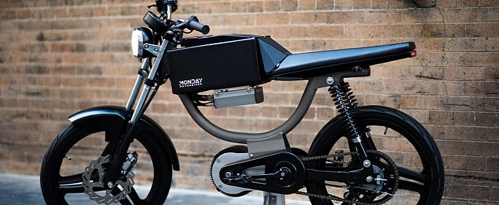 This New Electric Bicycle Looks Like A Cafe Racer