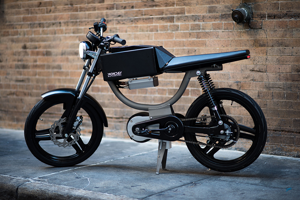 this new electric bicycle looks like a cafe racer - autoevolution