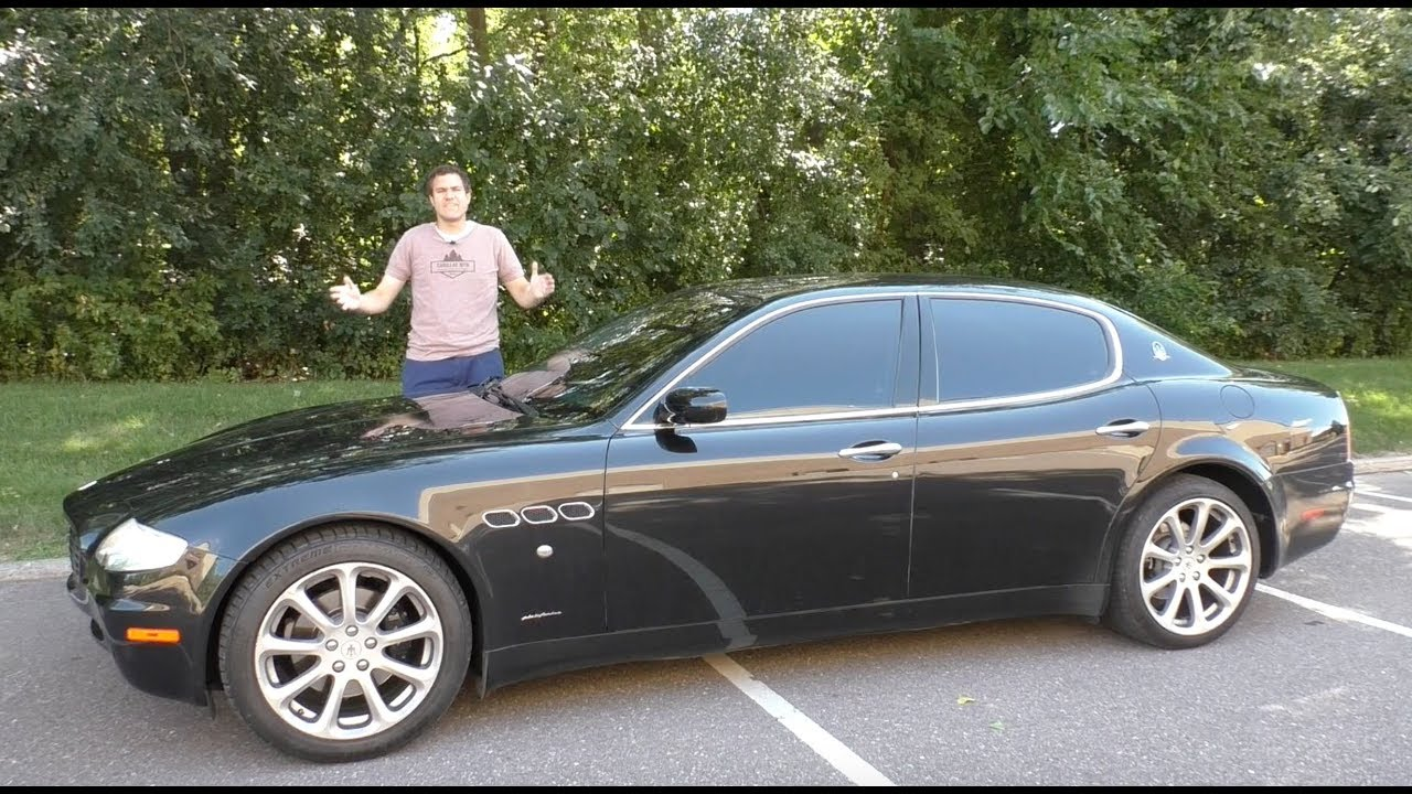This Old Maserati Quattroporte Is So Bad It Shouldn\'t Be Worth ...