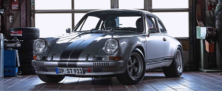 photo of This Porsche 911 S/T Tribute from DP Motorsport Has 1985 Carrera 3.2 Coupe Blood image