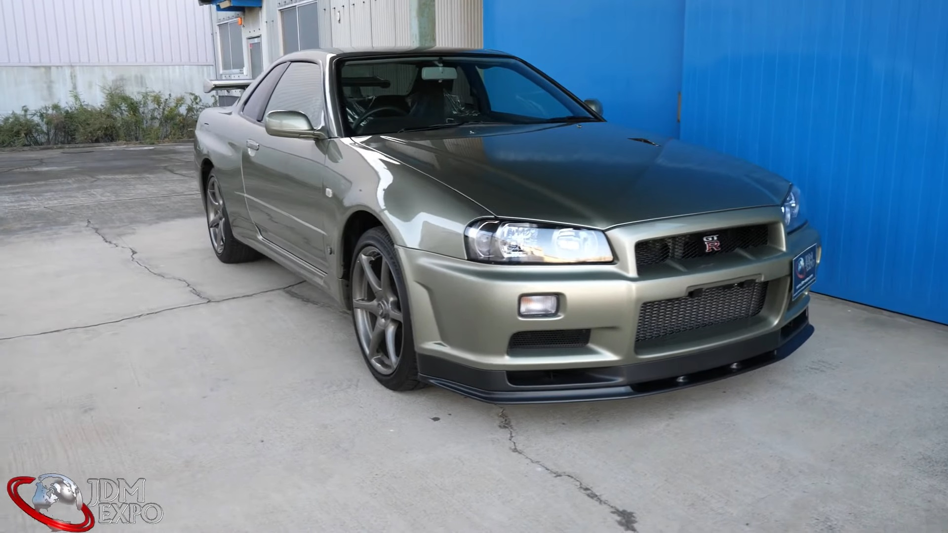 This R34 Nissan Skyline Gt R V Spec Ii Nur Is A 485 000 Time Capsule Autoevolution