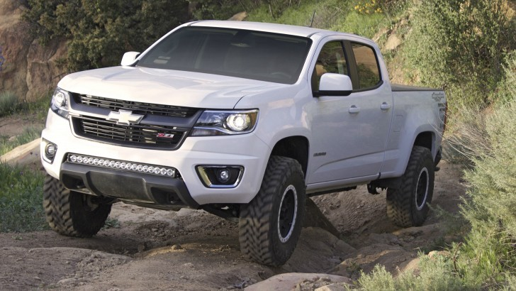 this truck is the most off road capable 2015 chevrolet colorado yet autoevolution. Black Bedroom Furniture Sets. Home Design Ideas