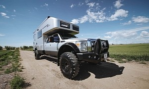 This Used EarthRoamer XV-LTS Camper Truck Can Be Yours for $330,000
