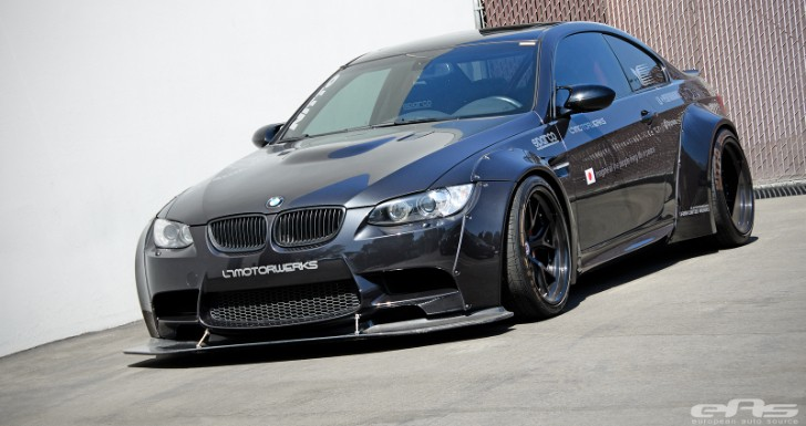 This Widebody BMW Is One Mean… M3 [Photo Gallery]