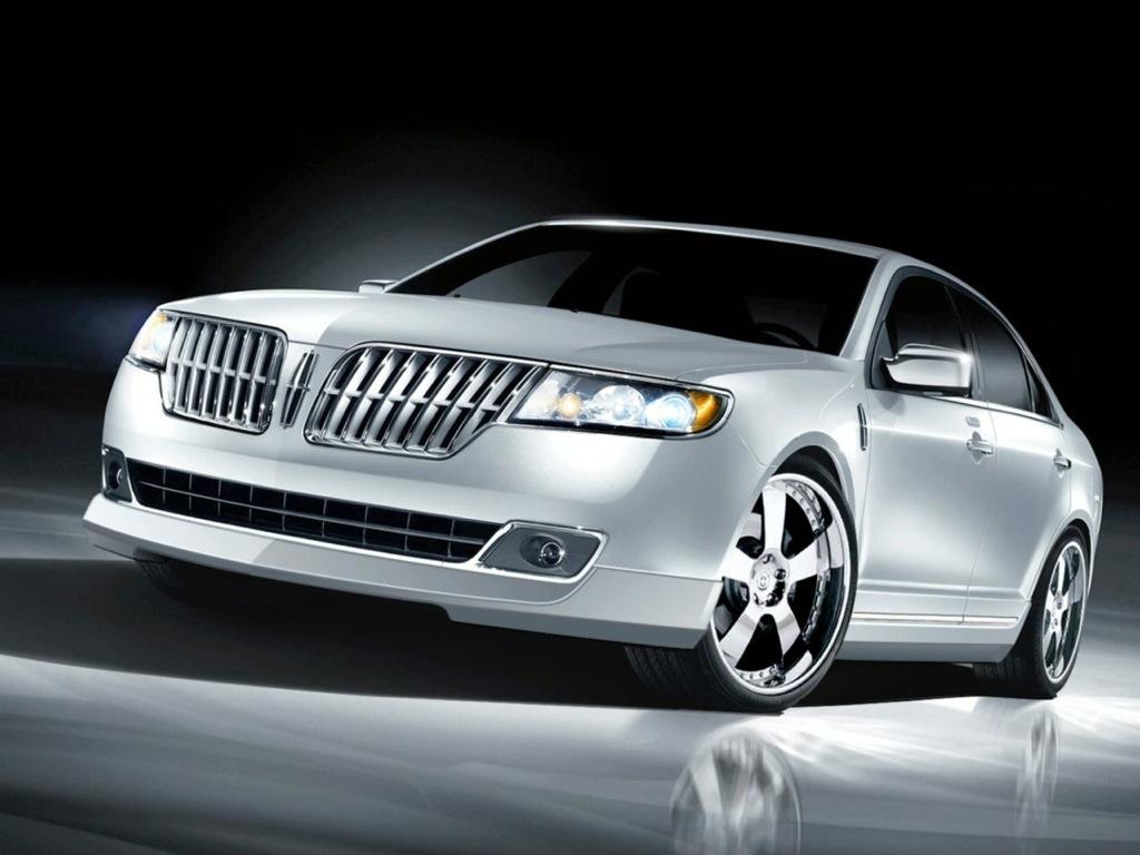 Three Customized Lincoln Cars At The 2009 Sema Show