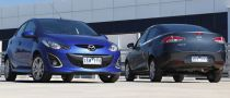 Three-Door Entry-Level Hatch Mazda2 Dropped in Australia