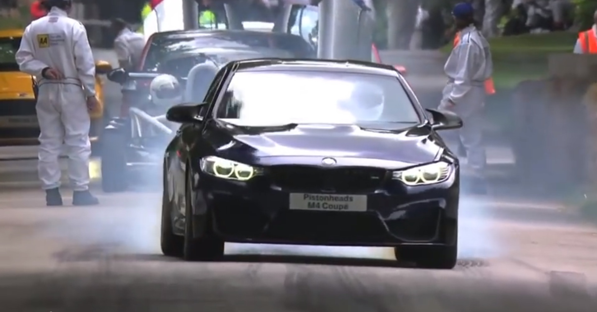 Tiff Needell Hoons The 2015 Bmw M4 On The Goodwood