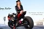 Tiffany Butler: Female Motorcycle Drag Racer Runs 8-Second Pass [Video]