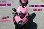 Tiffany Butler on Pink GSX-R 1000 Runs Texas Mile [Video]