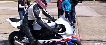 Tiffany Butler's BMW S1000RR Texas Mile Run [Video]