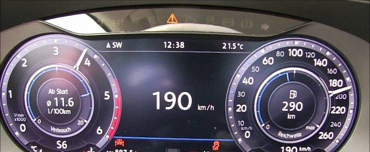 Tiguan 2 0 TDI 4Motion Acceleration Test Proves It's