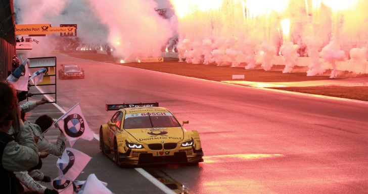 Timo Glock Wins Last 2013 DTM Race, Keeps the Manufacturer Title at BMW