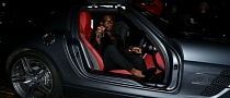 Tinie Tempah Drives a Mercedes SLS