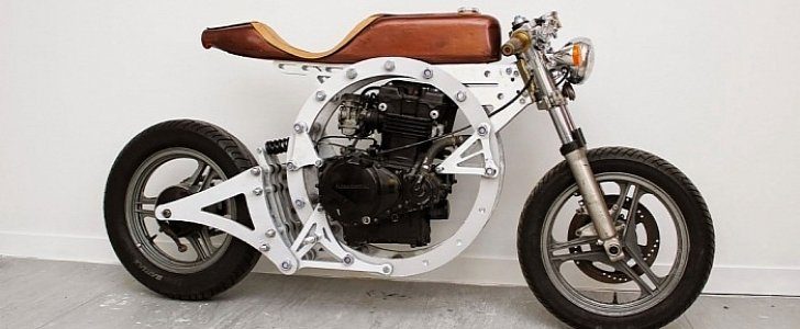 Tinker, the Downloadable Open-Source No-Weld Motorcycle