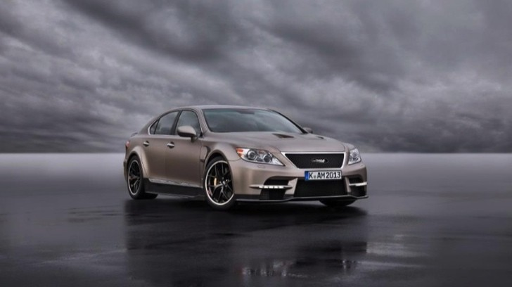 TMG Reveals Ultra-Hot Lexus LS - The Sports 650