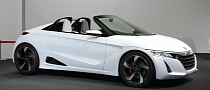 Tokyo 2013: Honda S660 Concept Previews 2015 Tiny Sportscar [Video] [Live Photos]