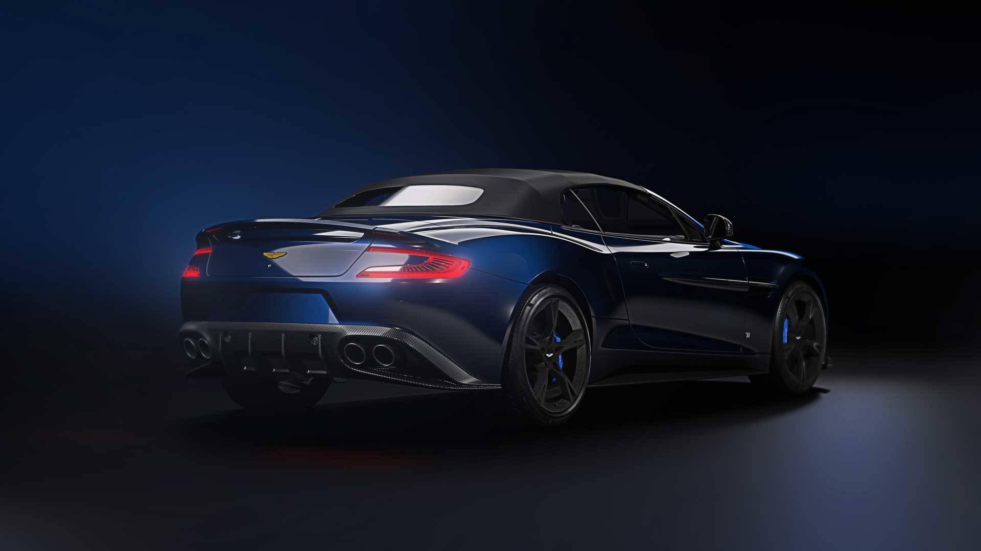 Tom Brady Gets His Name On LimitedEdition Aston Martin - 2018 aston martin vanquish convertible