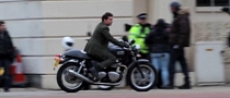 Tom Cruise Rides Hard on a Triumph in His Next Movie [Video]
