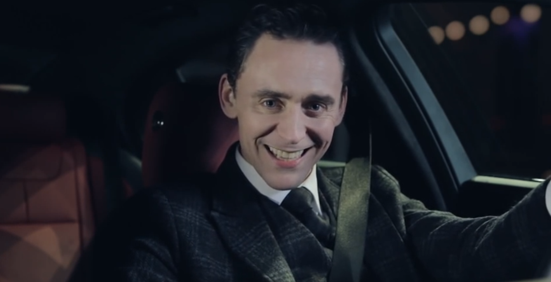 Tom Hiddleston Shows Jaguar S Villainous Side Autoevolution