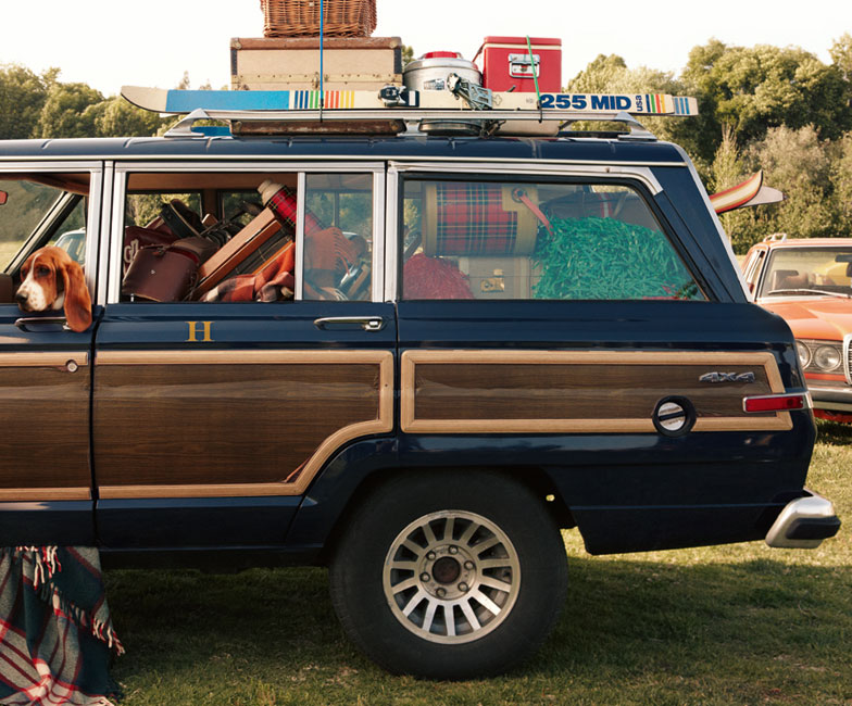 Jeep Wagoneer For Sale >> Tommy Hilfiger S Jeep Grand Wagoneer For Sale Autoevolution