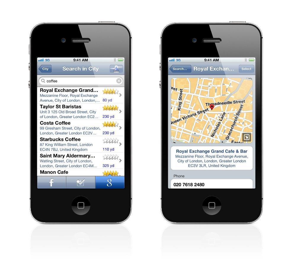 tomtom iphone and ipod navigation app updated version 1. Black Bedroom Furniture Sets. Home Design Ideas