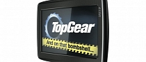 TomTom Top Gear Satnav Featuring The Stig and Clarkson