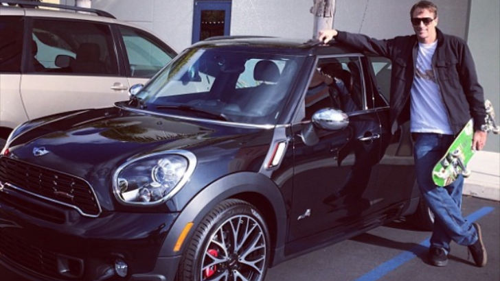 Tony Hawk Posts His New MINI JCW Countryman on Instagram