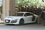Tony Stark Drives an Audi R8 e-tron in Iron Man 3 [Video]